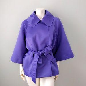 Vintage Victor Costa Orchid Purple Peplum Jacket L